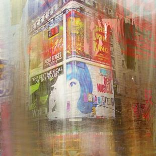 Art: New York Corner by Artist Alma Lee