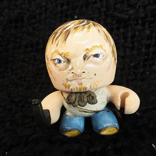 Art: Tiny Daryl Dixon by Artist Noelle Hunt