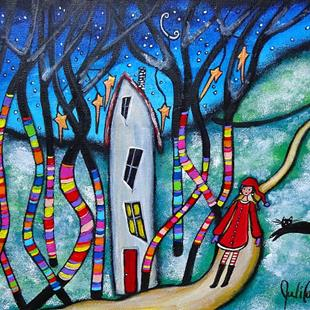 Art: Winter Magic by Artist Juli Cady Ryan