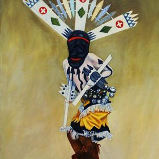 Art: The Crown Dancer by Artist Kathy Hatt