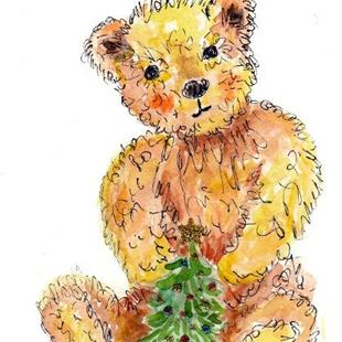 Art: Teddy Bear by Artist Ulrike 'Ricky' Martin
