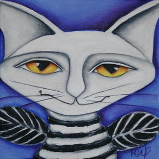 Art: Cat Fairy by Artist Deb Harvey