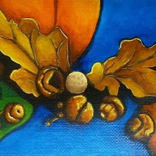 Art: Autumn Goodies (SOLD) by Artist Monique Morin Matson