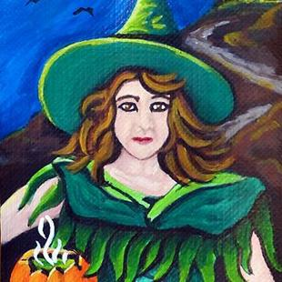 Art: Pumpkin Brew  (SOLD) by Artist Monique Morin Matson
