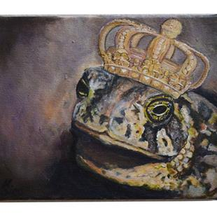 Art: A Toad's Fantasy by Artist Heather Sims