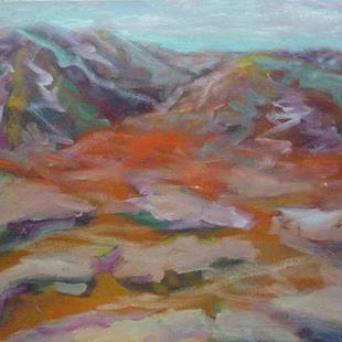 Art: Rocky Mountain Tundra by Artist Virginia Ann Zuelsdorf