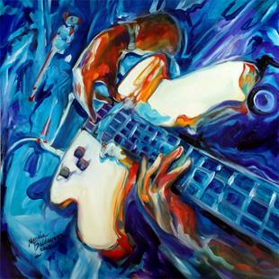 Art: GUITARMAN by Artist Marcia Baldwin