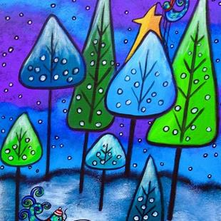 Art: Winter Celebration III by Artist Juli Cady Ryan