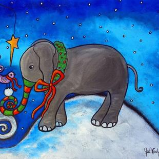 Art: Sharing Christmas by Artist Juli Cady Ryan