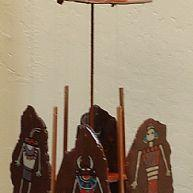 Art: Kachina Windchime by Artist Kathy Hatt