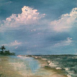 Art: Gulf Coast by Artist Kimberly Vanlandingham