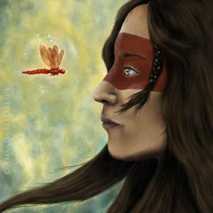 Art: Awakening by Artist Amanda Makepeace