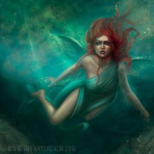 Art: Melusine by Artist Tiffany Toland-Scott