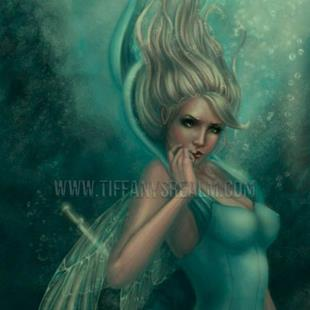 Art: Syrenka by Artist Tiffany Toland-Scott