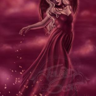 Art: Princess of Hearts by Artist Tiffany Toland-Scott
