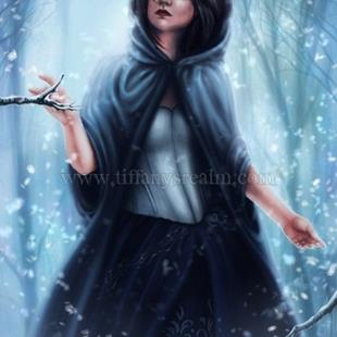 Art: Winter Spirit by Artist Tiffany Toland-Scott