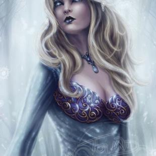 Art: Winter Queen by Artist Tiffany Toland-Scott