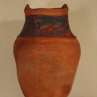 Art: Greek Amphora by Artist Kim Loberg