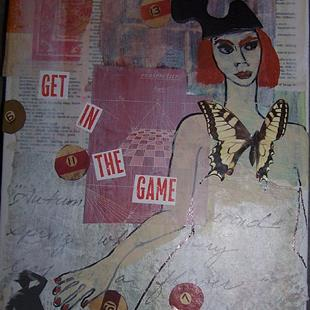 Art: Get In The Game SOLD by Artist Nancy Denommee
