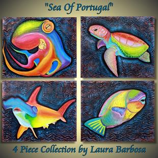 Art: Sea of Portugal Collection by Artist Laura Barbosa