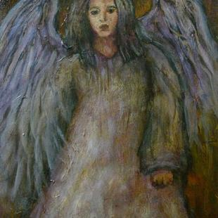Art: Heartbroken Angel by Artist Virginia Ann Zuelsdorf