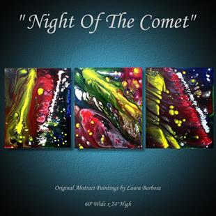 Art: Night Of The Comet by Artist Laura Barbosa
