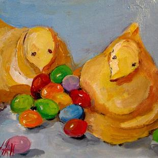 Art: Easter Candy-sold by Artist Delilah Smith