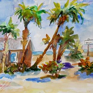 Art: To the Beach by Artist Delilah Smith