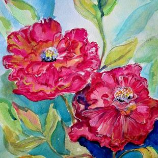 Art: Peony-sold by Artist Delilah Smith