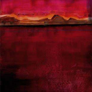 Art: Abstract Landscape No. 3 by Artist Kathy Morton Stanion