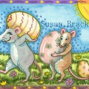 Art: EASTER LEFTOVERS by Artist Susan Brack