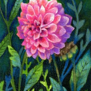 Art: Light in the Shade ACEO by Artist Carmen Medlin