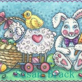 Art: EASTER SURPRISE by Artist Susan Brack