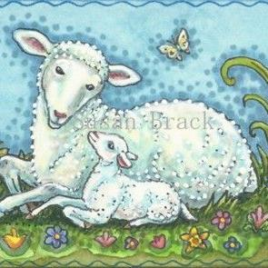 Art: SPRING TIME BABY by Artist Susan Brack