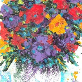 Art: Bouquet by Artist Ulrike 'Ricky' Martin