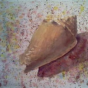 Art: Sanibel Sand & Shell by Artist Kimberly Vanlandingham