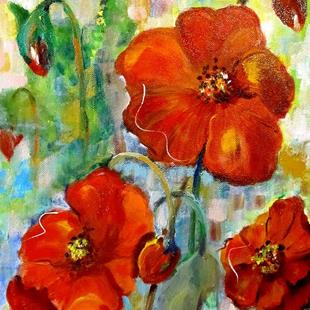 Art: Poppy Time-sold by Artist Delilah Smith