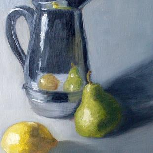 Art: Coffee & Citrus by Artist Kimberly Vanlandingham
