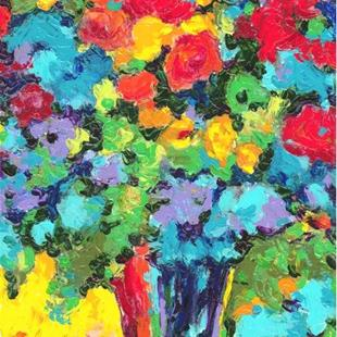 Art: Vibrant Bouquet - available in my etsy store by Artist Ulrike 'Ricky' Martin