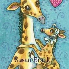 Art: BABY OF THE FAMILY by Artist Susan Brack
