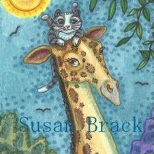Art: KITTENS LIKE HIGH PLACES by Artist Susan Brack