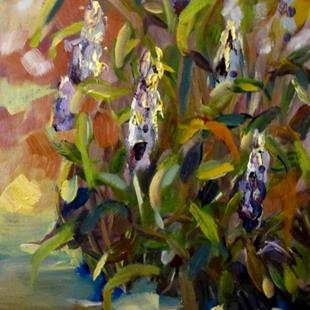 Art: Purple Loosestrife by Artist Delilah Smith