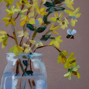 Art: Forsythia by Artist Delilah Smith