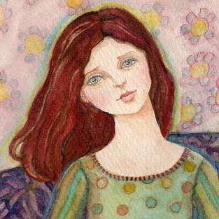 Art: Whimsical Sally (Sold) by Artist Catherine Darling Hostetter
