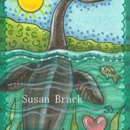 Art: FOR LOVE OF NESSIE by Artist Susan Brack