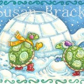 Art: TURTLE IGLOO by Artist Susan Brack