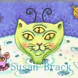 Art: CAT PLANET by Artist Susan Brack