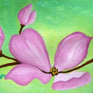 Art: Dogwood (SOLD) by Artist Monique Morin Matson