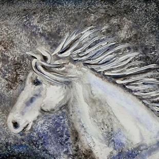 Art: Riding the Storm by Artist Melinda Dalke