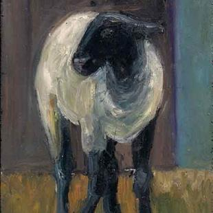 Art: sheep by Artist Catherine Darling Hostetter